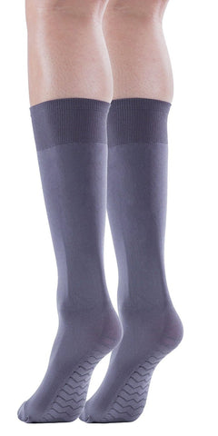 Womens Opaque Knee High Socks, 80 Denier, Stretchy, Massage Sole