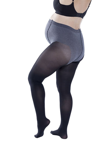 Trasparenze Womens Maternity Tights, Soft Cotton, Opaque 70 Denier