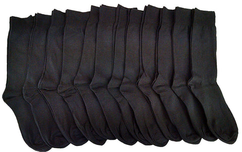 12 Pairs Of Dress Socks for Men, Formal Classic Cotton Socks