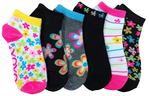 6 Pairs Youth Cute Girl Socks, Girls Ankle Socks
