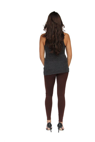 Sockbin Womens High Waist Tummy Tuck Brushed Fleece Leggings, Winter Warm