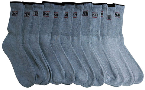 12 Pairs of Women Sport Socks, Athletic Socks Women Crew
