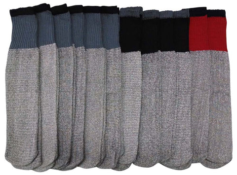 18 Pair of Men Sockbin Winter Thermal Tube Socks, Sock Size 10-13