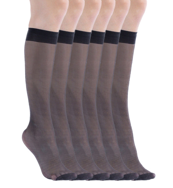 Womens Sheer Trouser Socks | Ladies Nylon Dress Socks | Sockbin | Sockbin