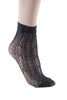 8 Pairs Patterned Fishnet Ankle Socks