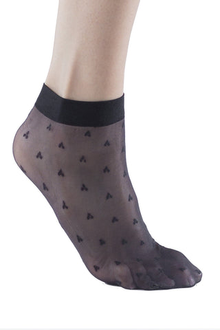 4 Pairs Womens Fishnet Socks, Nylon Sheer Patterned Ankle Sock, Women Dress Socks Size:  9-11, Women Shoe Sizes 5-10