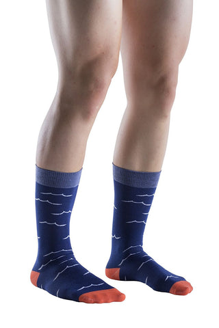 12 Pairs Mens Dress Socks, Colorful Patterned Fashion Dress Socks