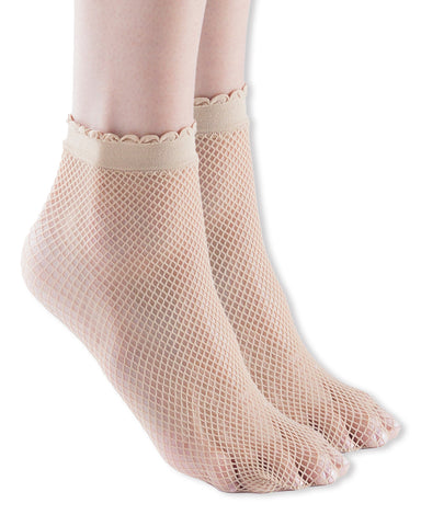 Women Fishnet Ankle Socks, Idra, Womens Fashion Fishnet Sock