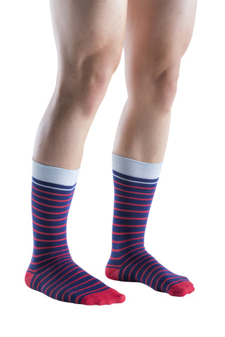 6 Pairs Mens Dress Socks, Fashion Patterned Socks