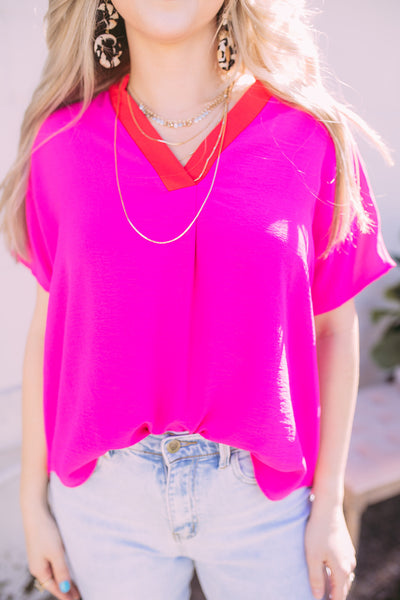 palm springs blouse