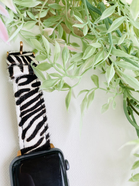 zebra - apple watch band
