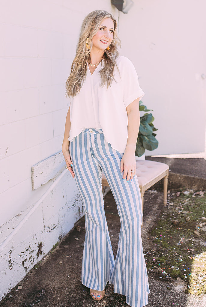 beat the blues - bell bottom jeans