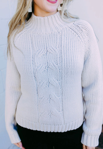 knotted up sweater