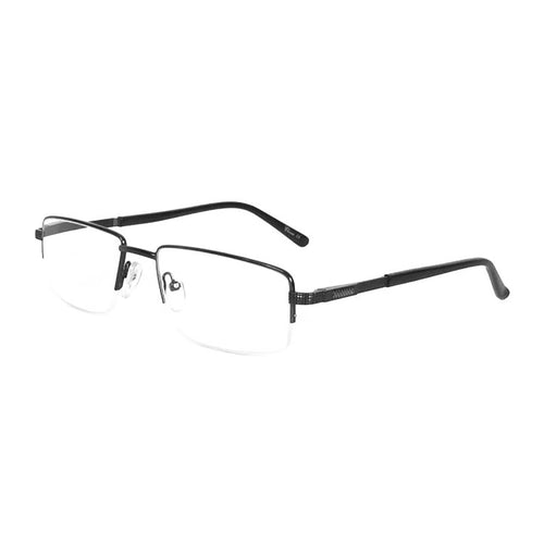 Metal Semi-Rimless Readers