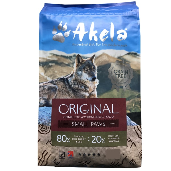 Akela 80/20 dog food Original Feast 1.5kg
