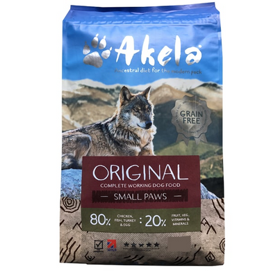 Akela 80/20 dog food Original Feast 10kg