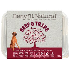 Benyfit Natural Beef and Tripe