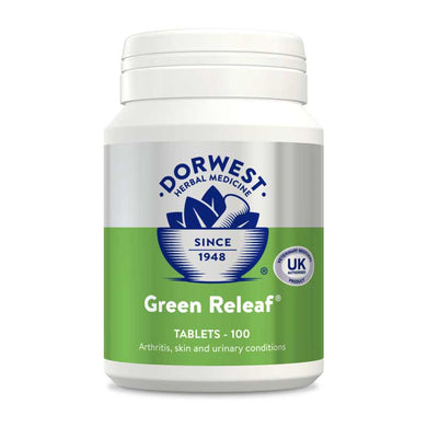 Dorwest Herbs Green Releaf (mixed vegetable) tablets