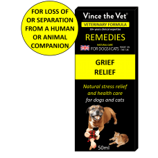 Vince The Vet Grief Relief remedy