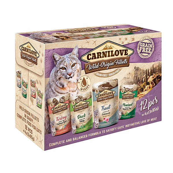Carnilove Cat pouch Multipack 12x85g