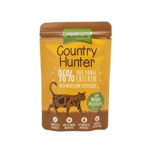 Country Hunter cat pouch Free Range Chicken