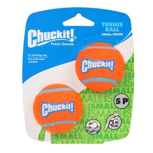 Chuckit Tennis Balls small pack of 2