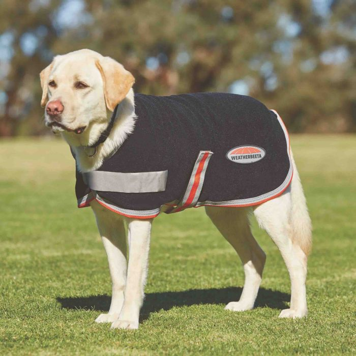 Weatherbeeta Comfitec Therapy fleece dog coat
