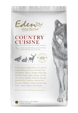Eden Country Cuisine dog food 2kg