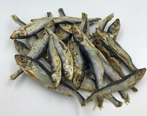 Dried Baltic sprats 100g