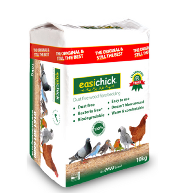 Easichick wood chip bedding 10kg