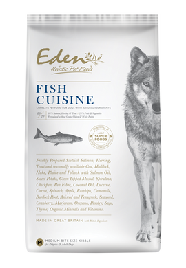 Eden Fish Cuisine dog food 6kg