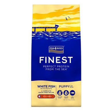 Fish 4 Dogs Finest puppy complete white fish 1.5kg