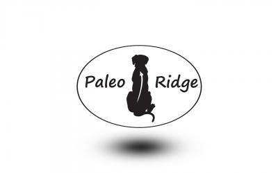 Paleo Ridge raw dog food. Beef tripe with duck complete