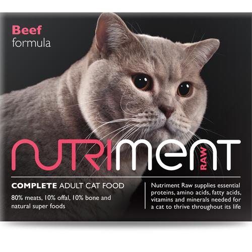Nutriment Beef formula for Cats