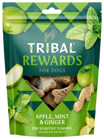 Tribal Rewards with apple, mint and ginger 125g