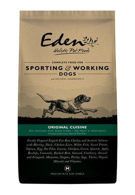 Eden Original cuisine working and sporting dog food 15kg