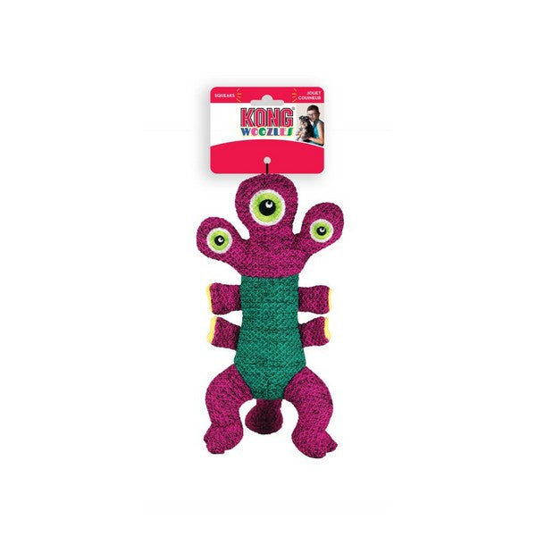Kong Woozle plush toy. pink