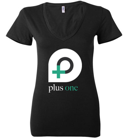 P1 Ladies Deep V-Neck T-shirt