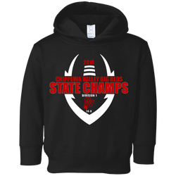 2018 State Champs 3326 Rabbit Skins Toddler Fleece Hoodie
