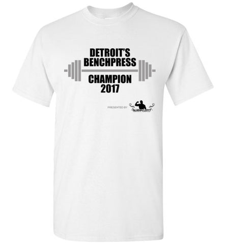 Detroit Benchpress Champion