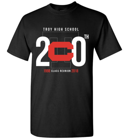 Troy High School Class of 1998 Reunion Shirt