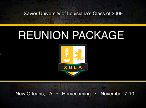 XULA C/O 2009 Registration Package