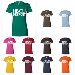 HBCU Alumni Detroit Ladies T-shirt