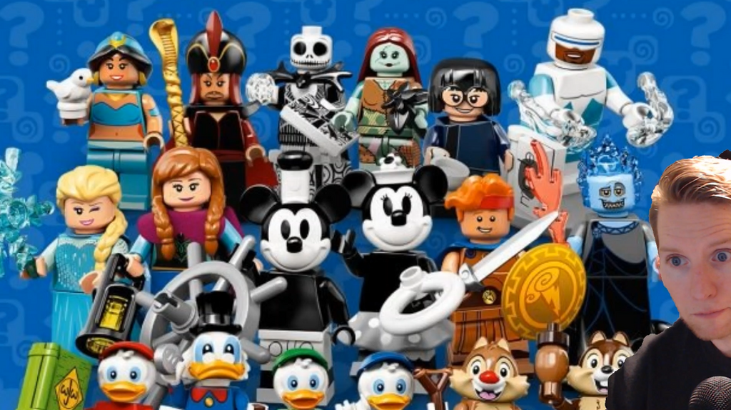 NEW Lego Disney Minifigures Series 2