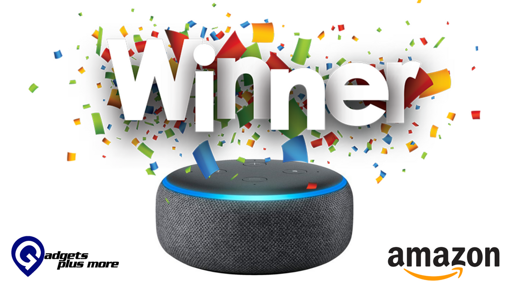 Amazon Echo Dot Winner's!