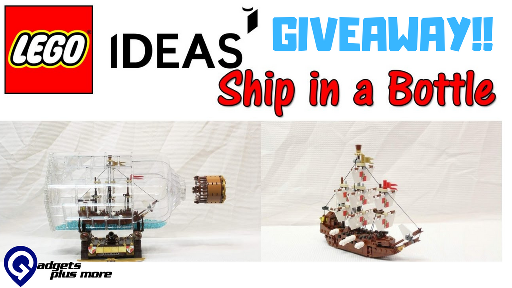 LEGO IDEAS Ship in a Bottle | February 2019 Giveaway