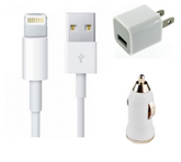 3in1 Charging Kit for iPhone 5/6/7 etc