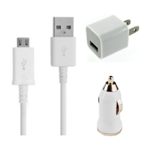 3in1 Charging Kit for Micro USB/Android Devices