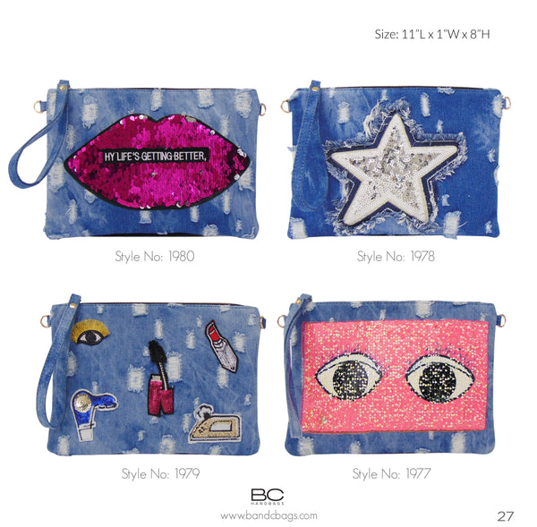 TRENDY NOW: Denim Handbags