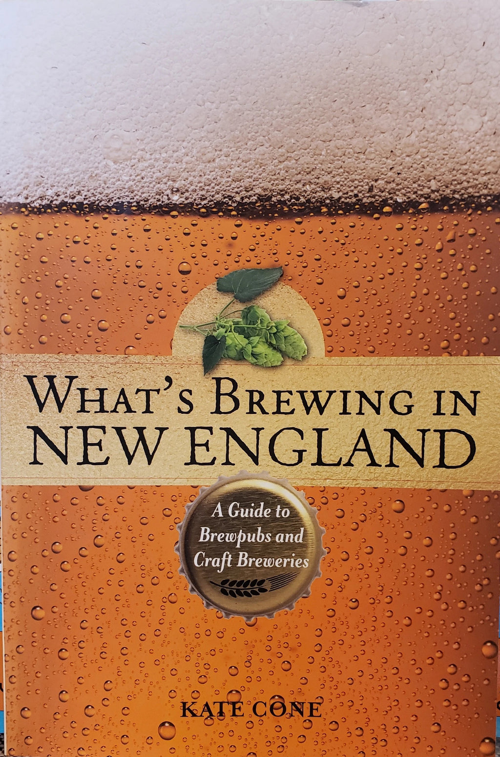 What's Brewing in New England by Kate Cone